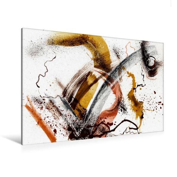 Premium Textil-Leinwand 120 cm x 80 cm quer, Hoch hinaus | Wandbild, Bild auf Keilrahmen, Fertigbild auf echter Leinwand, Leinwanddruck - Coverbild