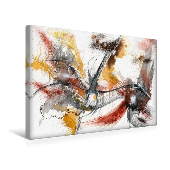 Premium Textil-Leinwand 45 cm x 30 cm quer, Kreuzung | Wandbild, Bild auf Keilrahmen, Fertigbild auf echter Leinwand, Leinwanddruck - Coverbild