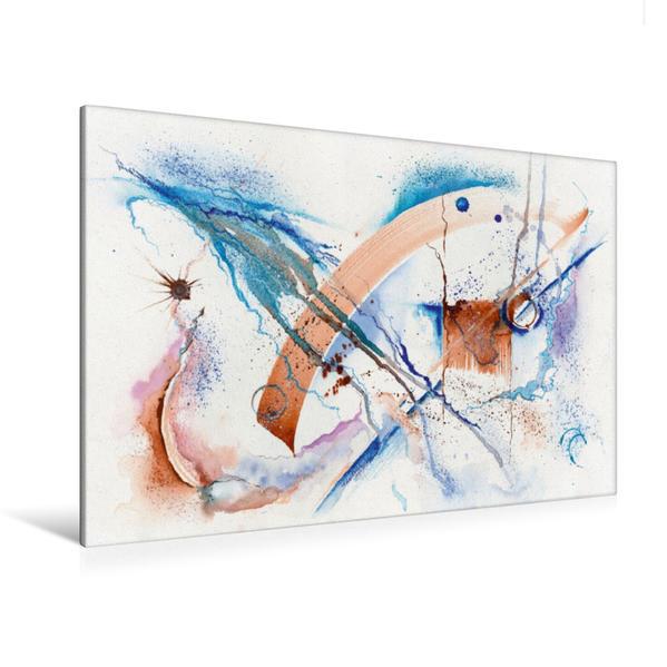 Premium Textil-Leinwand 120 cm x 80 cm quer, Gespannter Bogen | Wandbild, Bild auf Keilrahmen, Fertigbild auf echter Leinwand, Leinwanddruck - Coverbild