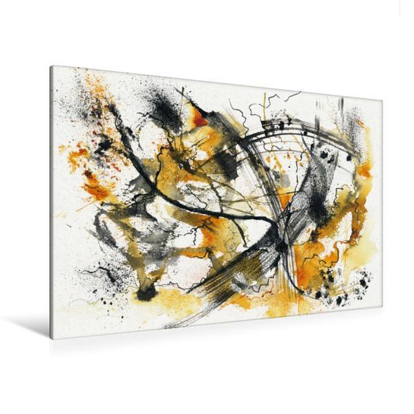 Premium Textil-Leinwand 120 cm x 80 cm quer, Lebensweg | Wandbild, Bild auf Keilrahmen, Fertigbild auf echter Leinwand, Leinwanddruck - Coverbild