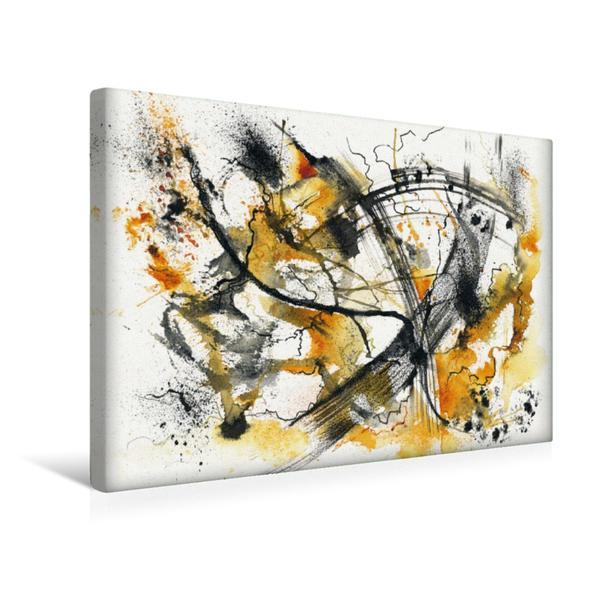 Premium Textil-Leinwand 45 cm x 30 cm quer, Lebensweg | Wandbild, Bild auf Keilrahmen, Fertigbild auf echter Leinwand, Leinwanddruck - Coverbild