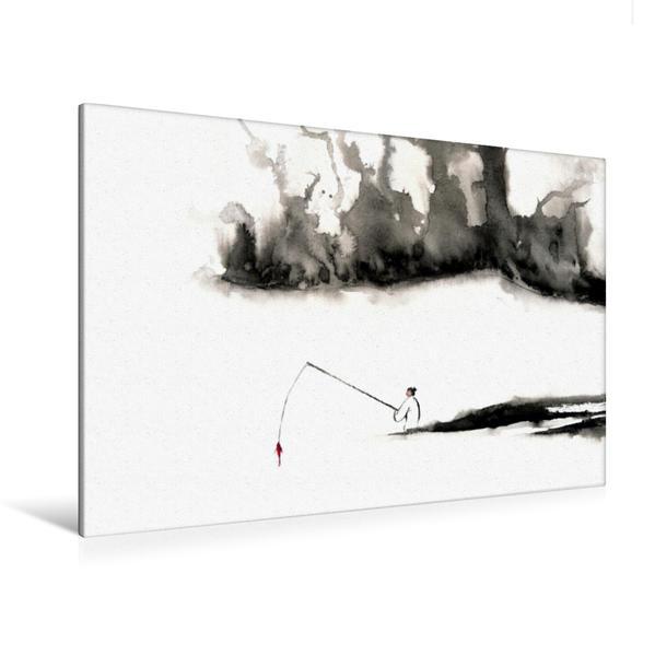 Premium Textil-Leinwand 120 cm x 80 cm quer, Erfolg | Wandbild, Bild auf Keilrahmen, Fertigbild auf echter Leinwand, Leinwanddruck - Coverbild