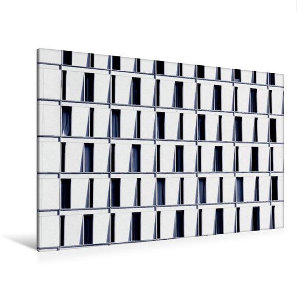 Premium Textil-Leinwand 120 cm x 80 cm quer, Frankfurt/Main | Wandbild, Bild auf Keilrahmen, Fertigbild auf echter Leinwand, Leinwanddruck - Coverbild