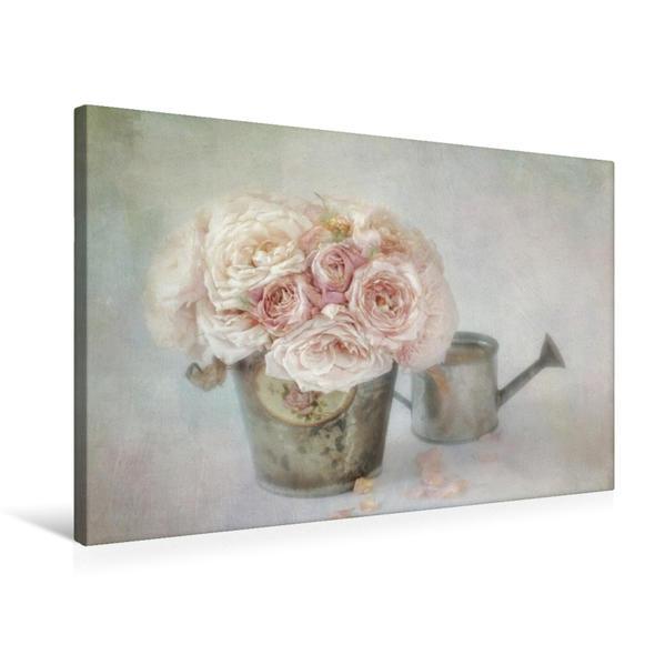 Premium Textil-Leinwand 75 cm x 50 cm quer, Sommererinnerung | Wandbild, Bild auf Keilrahmen, Fertigbild auf echter Leinwand, Leinwanddruck - Coverbild