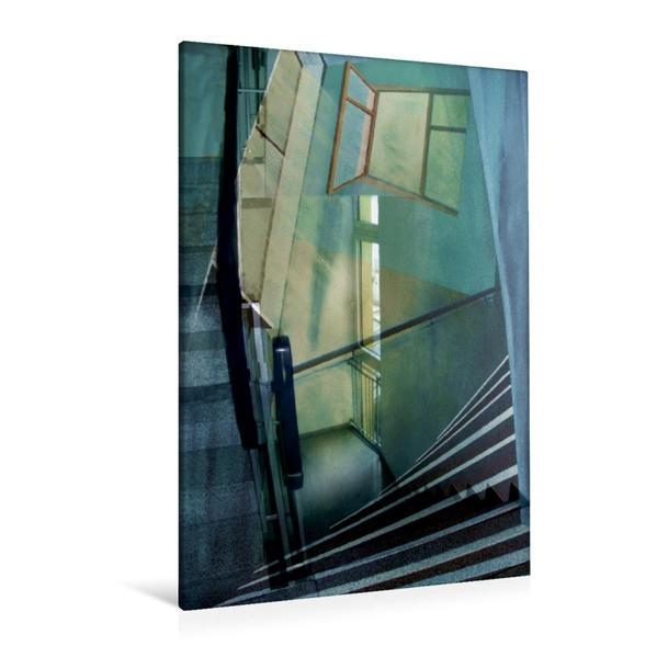Premium Textil-Leinwand 80 cm x 120 cm  hoch, Ein Motiv aus dem Kalender Träume im Raum | Wandbild, Bild auf Keilrahmen, Fertigbild auf echter Leinwand, Leinwanddruck - Coverbild