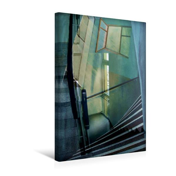 Premium Textil-Leinwand 30 cm x 45 cm hoch, Ein Motiv aus dem Kalender Träume im Raum | Wandbild, Bild auf Keilrahmen, Fertigbild auf echter Leinwand, Leinwanddruck - Coverbild