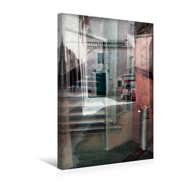 Premium Textil-Leinwand 30 cm x 45 cm hoch, Lichteinflüsse | Wandbild, Bild auf Keilrahmen, Fertigbild auf echter Leinwand, Leinwanddruck - Coverbild