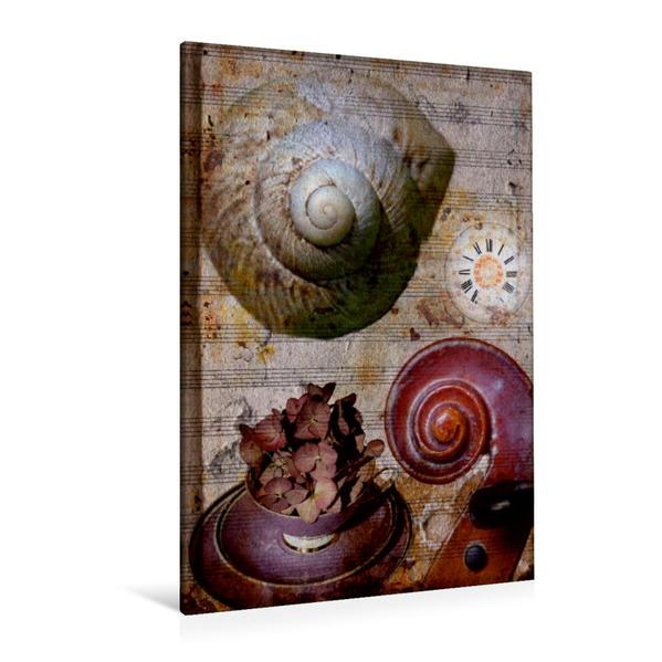 Premium Textil-Leinwand 80 cm x 120 cm  hoch, Ein Motiv aus dem Kalender Carpe diem - Lebensfreude | Wandbild, Bild auf Keilrahmen, Fertigbild auf echter Leinwand, Leinwanddruck - Coverbild