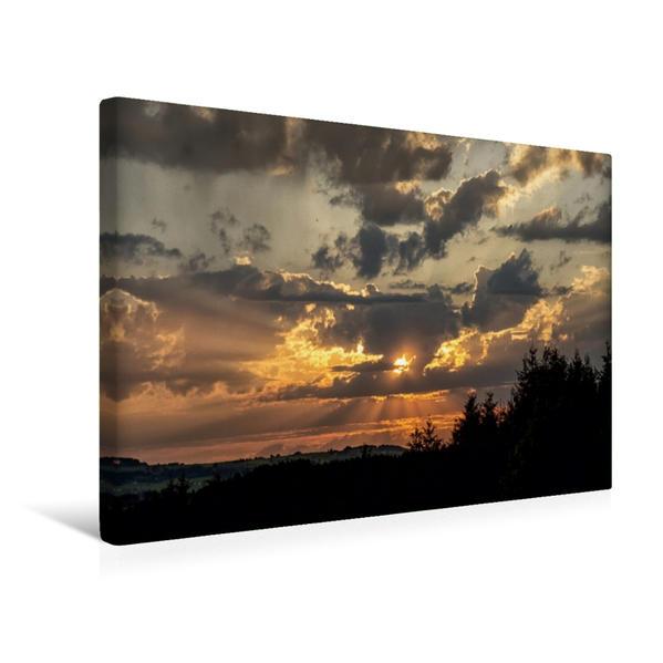Premium Textil-Leinwand 45 cm x 30 cm quer, Ein Motiv aus dem Kalender Steingaden und Umgebung | Wandbild, Bild auf Keilrahmen, Fertigbild auf echter Leinwand, Leinwanddruck - Coverbild