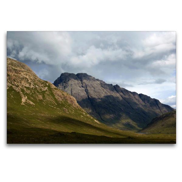 Premium Textil-Leinwand 120 cm x 80 cm quer, Blaven, Isle of Skye | Wandbild, Bild auf Keilrahmen, Fertigbild auf echter Leinwand, Leinwanddruck - Coverbild