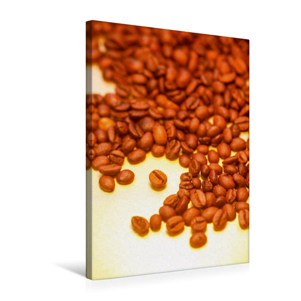 Premium Textil-Leinwand 50 cm x 75 cm hoch, Kaffee | Wandbild, Bild auf Keilrahmen, Fertigbild auf echter Leinwand, Leinwanddruck - Coverbild
