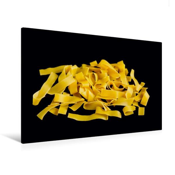 Premium Textil-Leinwand 120 cm x 80 cm quer, Ein Motiv aus dem Kalender Pasta | Wandbild, Bild auf Keilrahmen, Fertigbild auf echter Leinwand, Leinwanddruck - Coverbild