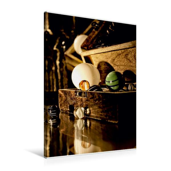Premium Textil-Leinwand 60 cm x 90 cm hoch, Murmelschatz | Wandbild, Bild auf Keilrahmen, Fertigbild auf echter Leinwand, Leinwanddruck - Coverbild