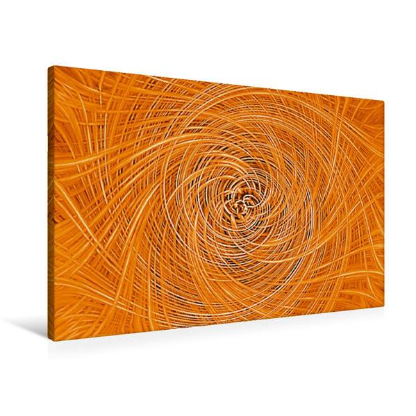 Premium Textil-Leinwand 90 cm x 60 cm quer, Korb-Boden | Wandbild, Bild auf Keilrahmen, Fertigbild auf echter Leinwand, Leinwanddruck - Coverbild