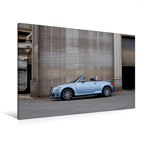 Premium Textil-Leinwand 120 cm x 80 cm quer, Ein Motiv aus dem Kalender Roadster Sportwagen | Wandbild, Bild auf Keilrahmen, Fertigbild auf echter Leinwand, Leinwanddruck - Coverbild