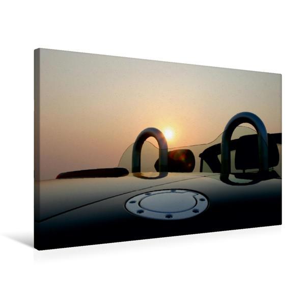 Premium Textil-Leinwand 75 cm x 50 cm quer, Ein Motiv aus dem Kalender Coupés und Roadster SporTTwagen | Wandbild, Bild auf Keilrahmen, Fertigbild auf echter Leinwand, Leinwanddruck - Coverbild