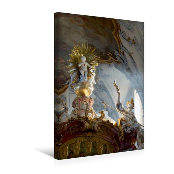 Premium Textil-Leinwand 30 cm x 45 cm hoch, Ein Motiv aus dem Kalender Vierzehnheiligen | Wandbild, Bild auf Keilrahmen, Fertigbild auf echter Leinwand, Leinwanddruck - Coverbild