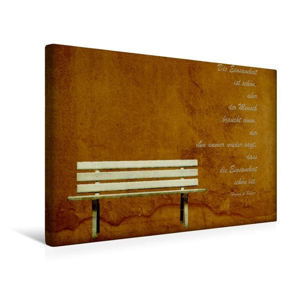 Premium Textil-Leinwand 45 cm x 30 cm quer, Motivationshilfe | Wandbild, Bild auf Keilrahmen, Fertigbild auf echter Leinwand, Leinwanddruck - Coverbild