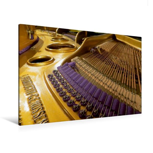 Premium Textil-Leinwand 120 cm x 80 cm quer, Komposition | Wandbild, Bild auf Keilrahmen, Fertigbild auf echter Leinwand, Leinwanddruck - Coverbild