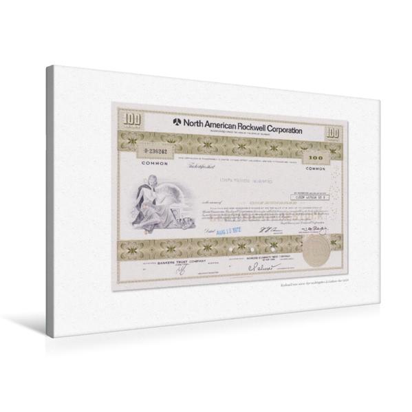 Premium Textil-Leinwand 75 cm x 50 cm quer, Ein Motiv aus dem Kalender Aktien & Wertpapiere / CH-Version | Wandbild, Bild auf Keilrahmen, Fertigbild auf echter Leinwand, Leinwanddruck - Coverbild