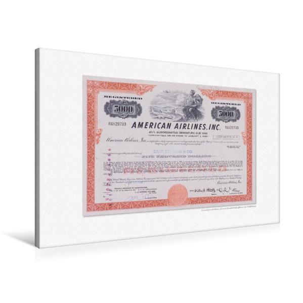 Premium Textil-Leinwand 90 cm x 60 cm quer, Ein Motiv aus dem Kalender Aktien & Wertpapiere / CH-Version | Wandbild, Bild auf Keilrahmen, Fertigbild auf echter Leinwand, Leinwanddruck - Coverbild
