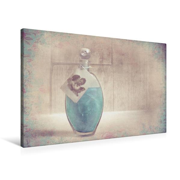 Premium Textil-Leinwand 90 cm x 60 cm quer, Nostalgie | Wandbild, Bild auf Keilrahmen, Fertigbild auf echter Leinwand, Leinwanddruck - Coverbild