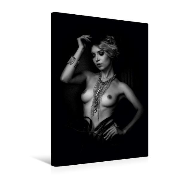 Premium Textil-Leinwand 50 cm x 75 cm hoch, Mia-Sophia   Wandbild, Bild auf Keilrahmen, Fertigbild auf echter Leinwand, Leinwanddruck - Coverbild