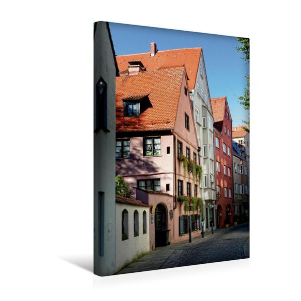 Premium Textil-Leinwand 30 cm x 45 cm hoch, Alte Silberschmiede, Augsburg, Deutschland | Wandbild, Bild auf Keilrahmen, Fertigbild auf echter Leinwand, Leinwanddruck - Coverbild