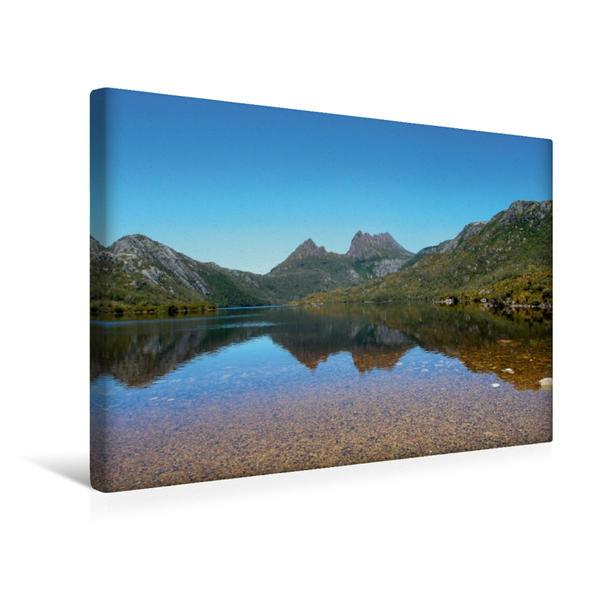 Premium Textil-Leinwand 45 cm x 30 cm quer, Ein Motiv aus dem Kalender Tasmanien 360° erleben | Wandbild, Bild auf Keilrahmen, Fertigbild auf echter Leinwand, Leinwanddruck - Coverbild
