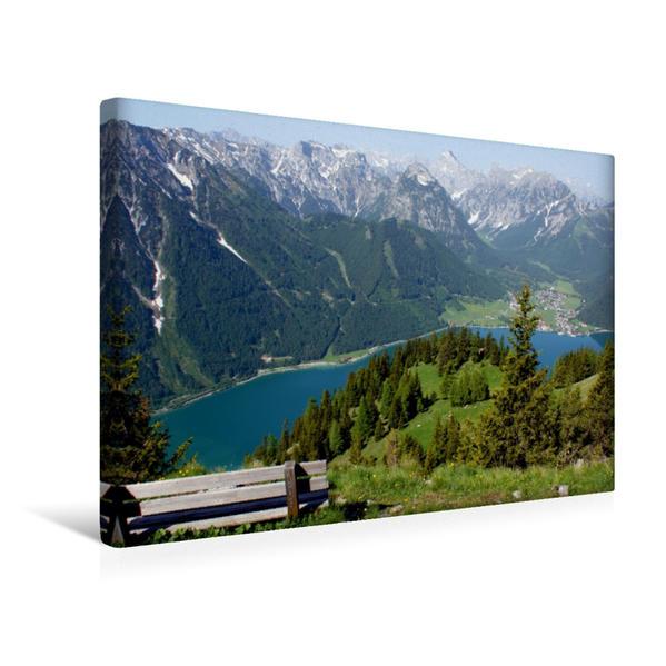 Premium Textil-Leinwand 45 cm x 30 cm quer, Ein Motiv aus dem Kalender Tirol – Rund um den Achensee | Wandbild, Bild auf Keilrahmen, Fertigbild auf echter Leinwand, Leinwanddruck - Coverbild