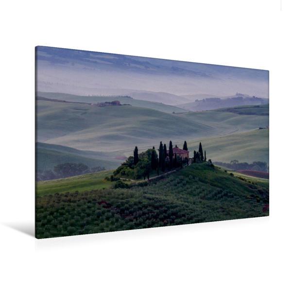 Premium Textil-Leinwand 120 cm x 80 cm quer, Belvedere | Wandbild, Bild auf Keilrahmen, Fertigbild auf echter Leinwand, Leinwanddruck - Coverbild