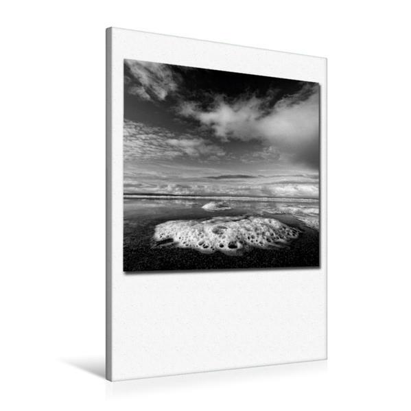 Premium Textil-Leinwand 60 cm x 90 cm hoch, Ein Motiv aus dem Kalender Ozean   Wandbild, Bild auf Keilrahmen, Fertigbild auf echter Leinwand, Leinwanddruck - Coverbild