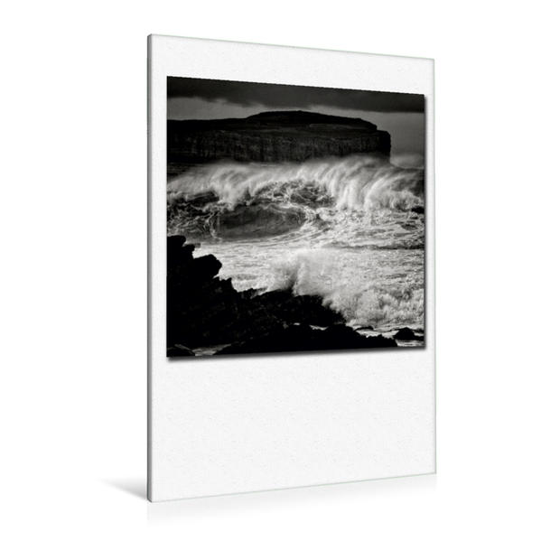 Premium Textil-Leinwand 80 cm x 120 cm  hoch, Ein Motiv aus dem Kalender Ozean | Wandbild, Bild auf Keilrahmen, Fertigbild auf echter Leinwand, Leinwanddruck - Coverbild