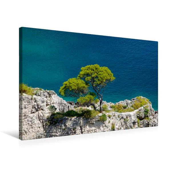 Premium Textil-Leinwand 75 cm x 50 cm quer, San Domino | Wandbild, Bild auf Keilrahmen, Fertigbild auf echter Leinwand, Leinwanddruck - Coverbild
