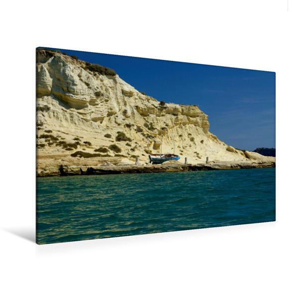 Premium Textil-Leinwand 120 cm x 80 cm quer, Caprara | Wandbild, Bild auf Keilrahmen, Fertigbild auf echter Leinwand, Leinwanddruck - Coverbild