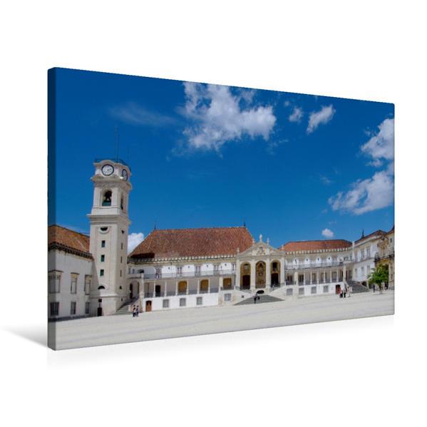 Premium Textil-Leinwand 75 cm x 50 cm quer, Coimbra | Wandbild, Bild auf Keilrahmen, Fertigbild auf echter Leinwand, Leinwanddruck - Coverbild