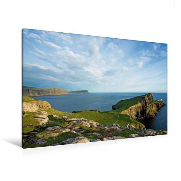 Premium Textil-Leinwand 120 cm x 80 cm quer, Isle of Skye Schottlands Inseln | Wandbild, Bild auf Keilrahmen, Fertigbild auf echter Leinwand, Leinwanddruck - Coverbild