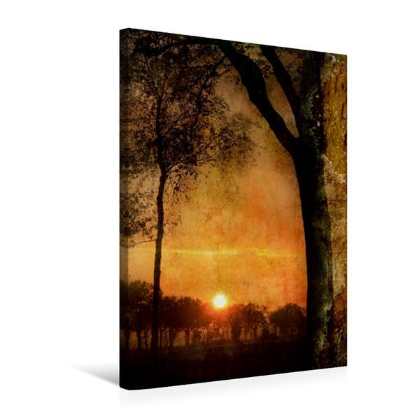 Premium Textil-Leinwand 50 cm x 75 cm hoch, Ein Motiv aus dem Kalender Mystische Welten | Wandbild, Bild auf Keilrahmen, Fertigbild auf echter Leinwand, Leinwanddruck - Coverbild
