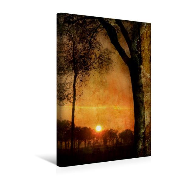 Premium Textil-Leinwand 30 cm x 45 cm hoch, Ein Motiv aus dem Kalender Mystische Welten | Wandbild, Bild auf Keilrahmen, Fertigbild auf echter Leinwand, Leinwanddruck - Coverbild