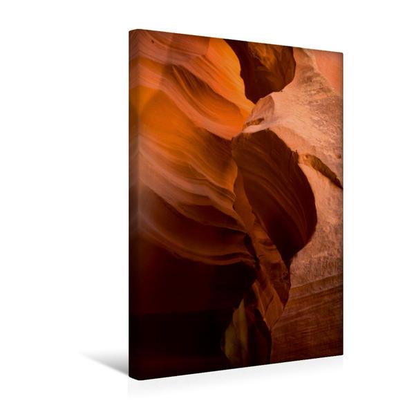 Premium Textil-Leinwand 30 cm x 45 cm hoch, Antelope Canyon - Pure Faszination | Wandbild, Bild auf Keilrahmen, Fertigbild auf echter Leinwand, Leinwanddruck - Coverbild