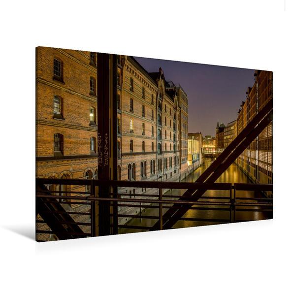 Premium Textil-Leinwand 120 cm x 80 cm quer, Brooksfleet | Wandbild, Bild auf Keilrahmen, Fertigbild auf echter Leinwand, Leinwanddruck - Coverbild