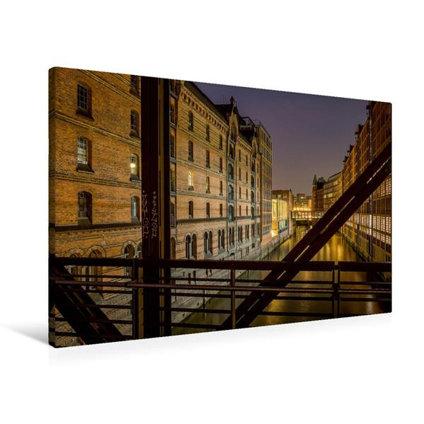 Premium Textil-Leinwand 90 cm x 60 cm quer, Brooksfleet | Wandbild, Bild auf Keilrahmen, Fertigbild auf echter Leinwand, Leinwanddruck - Coverbild