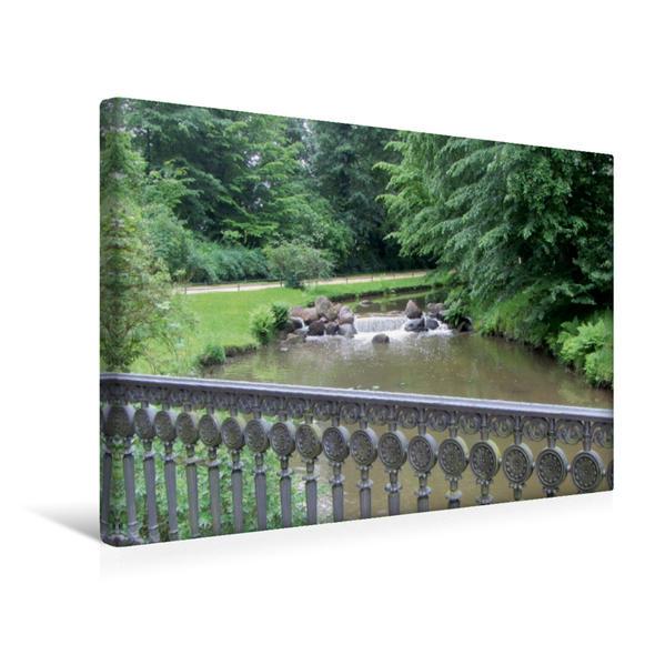 Premium Textil-Leinwand 45 cm x 30 cm quer, Überbrückendes   Wandbild, Bild auf Keilrahmen, Fertigbild auf echter Leinwand, Leinwanddruck - Coverbild