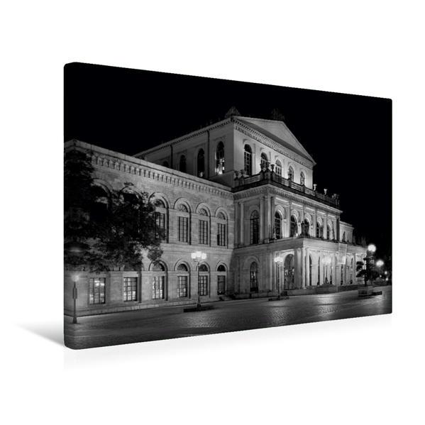 Premium Textil-Leinwand 45 cm x 30 cm quer, Oper   Wandbild, Bild auf Keilrahmen, Fertigbild auf echter Leinwand, Leinwanddruck - Coverbild