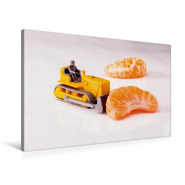 Premium Textil-Leinwand 90 cm x 60 cm quer, Vitaminschub   Wandbild, Bild auf Keilrahmen, Fertigbild auf echter Leinwand, Leinwanddruck - Coverbild