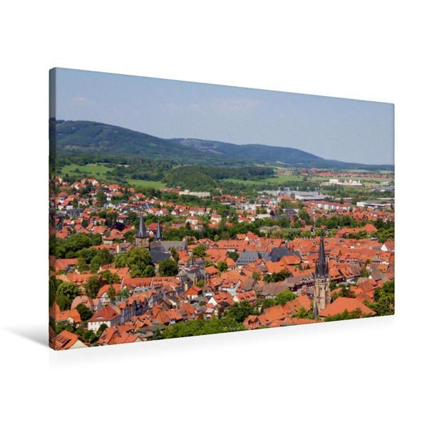 Premium Textil-Leinwand 90 cm x 60 cm quer, Harz, Deutschland | Wandbild, Bild auf Keilrahmen, Fertigbild auf echter Leinwand, Leinwanddruck - Coverbild