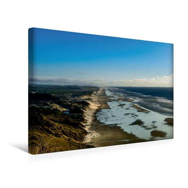 Premium Textil-Leinwand 45 cm x 30 cm quer, Dünen bei Florence   Wandbild, Bild auf Keilrahmen, Fertigbild auf echter Leinwand, Leinwanddruck - Coverbild