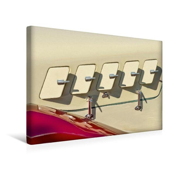 Premium Textil-Leinwand 45 cm x 30 cm quer, Oldtimer Hansa 1700 Cabrio   Wandbild, Bild auf Keilrahmen, Fertigbild auf echter Leinwand, Leinwanddruck - Coverbild