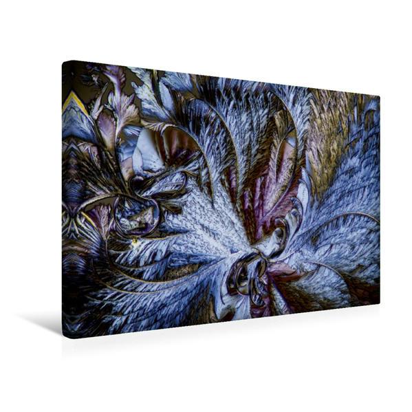 Premium Textil-Leinwand 45 cm x 30 cm quer, Äpfelsäure und Resorcin | Wandbild, Bild auf Keilrahmen, Fertigbild auf echter Leinwand, Leinwanddruck - Coverbild