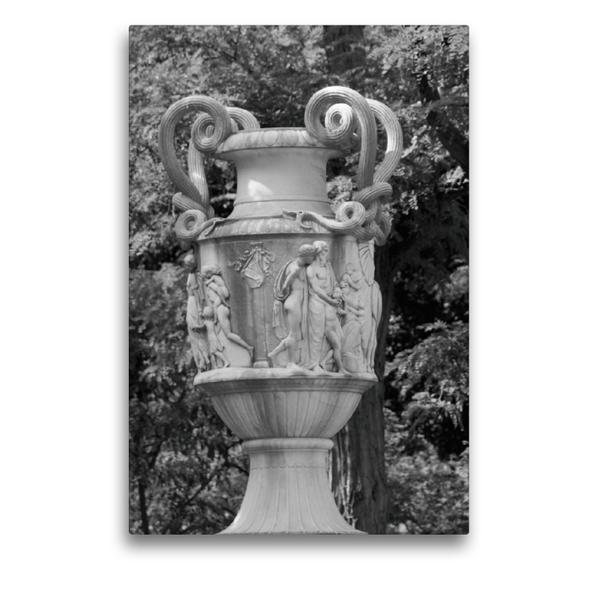Premium Textil-Leinwand 50 cm x 75 cm hoch, Steinhäuser Vase in Bremen   Wandbild, Bild auf Keilrahmen, Fertigbild auf echter Leinwand, Leinwanddruck - Coverbild